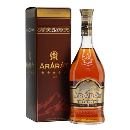 Picture of ARARAT 5 YO BRANDY 40%