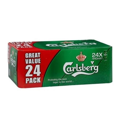Picture of CARLSBERG BEER BIG CAN 50 CL X 24