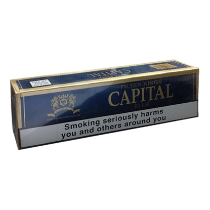 Picture of Capital Blue King Size Cigarettes